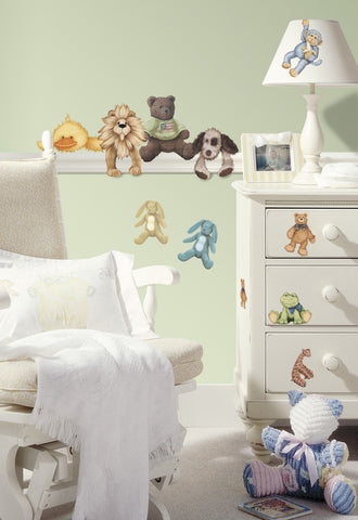 Cuddle Buddies Peel & Stick Wall Decals image