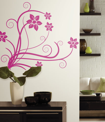 Deco Swirl Peel & Stick Wall Decals image