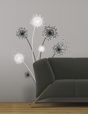 Dandelion Peel & Stick Giant Wall Decal image