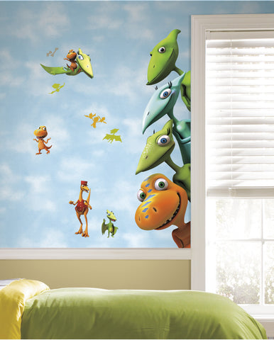 Dinosaur Train Peel & Stick Giant Wall Decals
