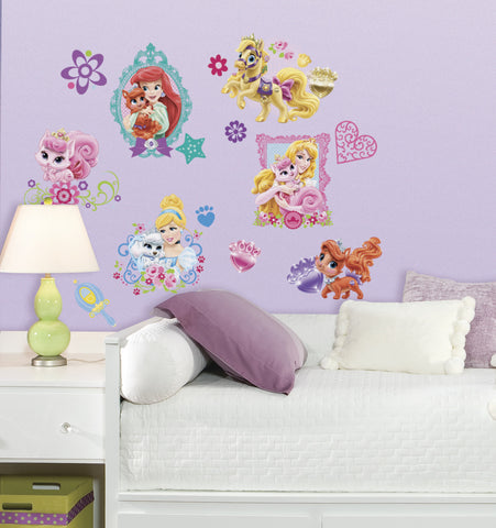 Disney Princess - Palace Pets Peel and Stick Wall Decals