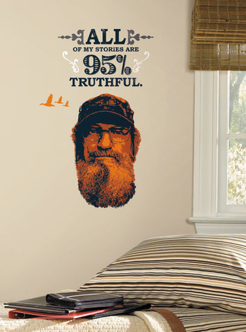 Duck Dynasty Si Peel and Stick Giant Wall Decals