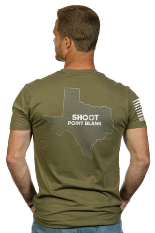 Nine Line Apparel SPB Live Confidently Texas Tee Shirt