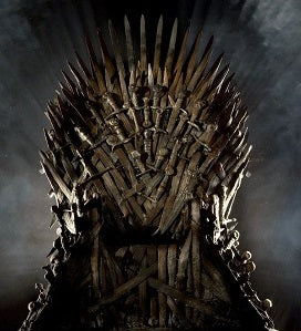 Game of Thrones throne of swords