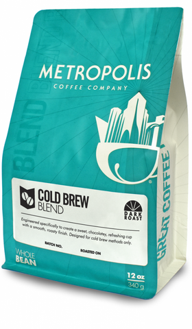 Cold Brew Blend - Metropolis Coffee
