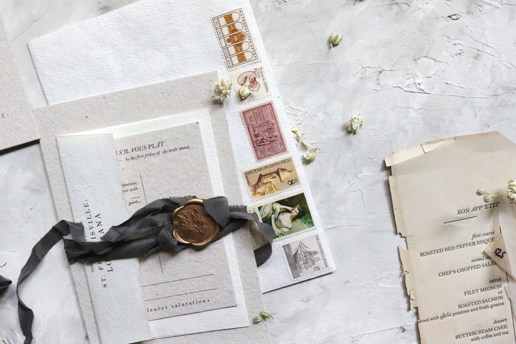 Mailing your fine stationery {by HOPE Johnson}