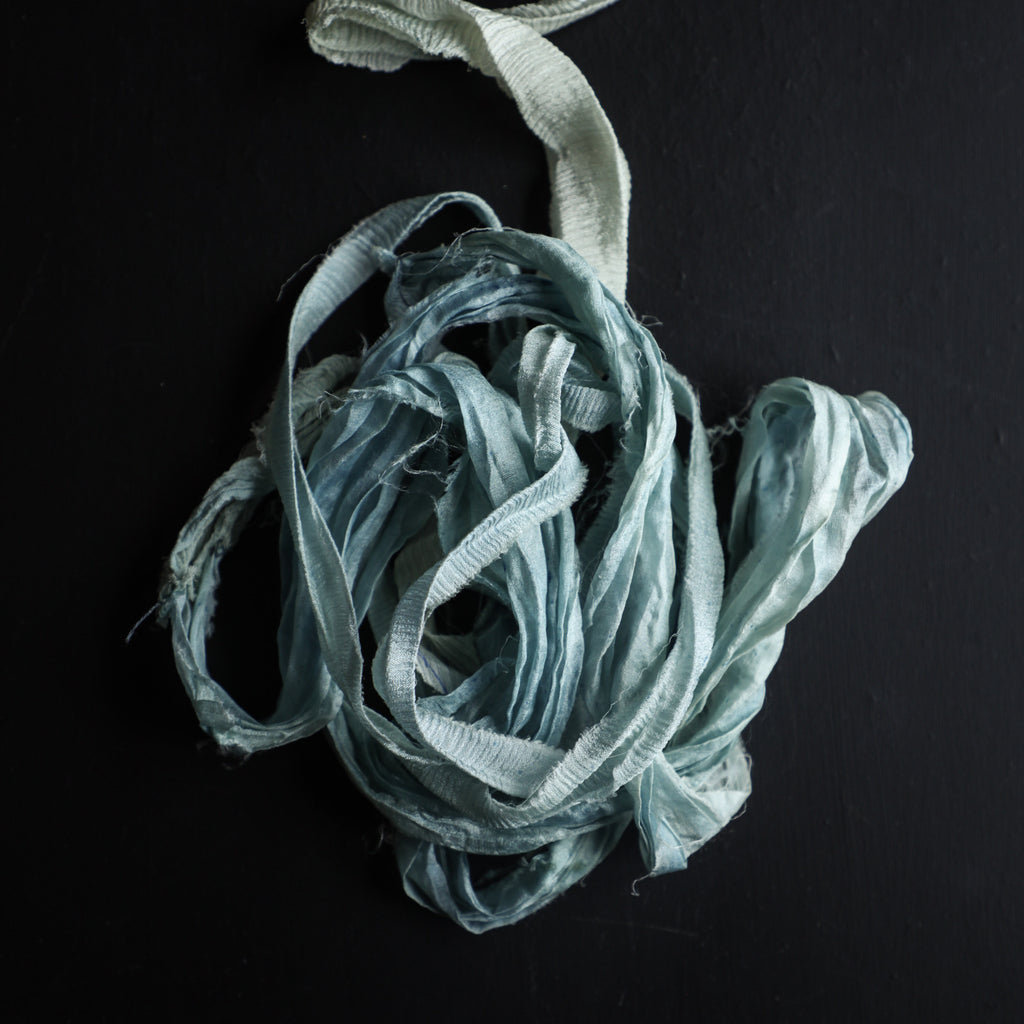 Sea Foam {Recycled Ribbon}