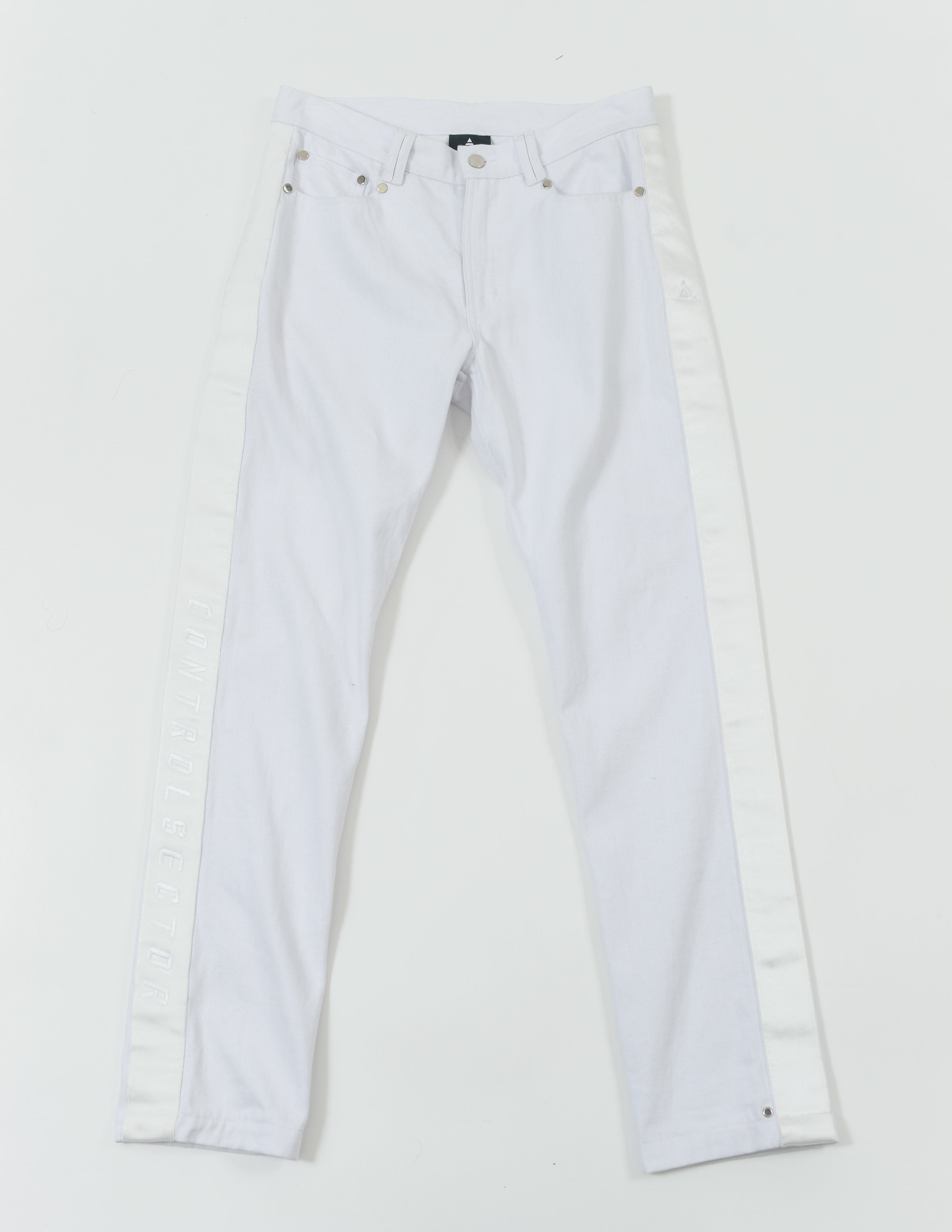 CON1720-01 CHILDREN OF NEVER DENIM - WHITE