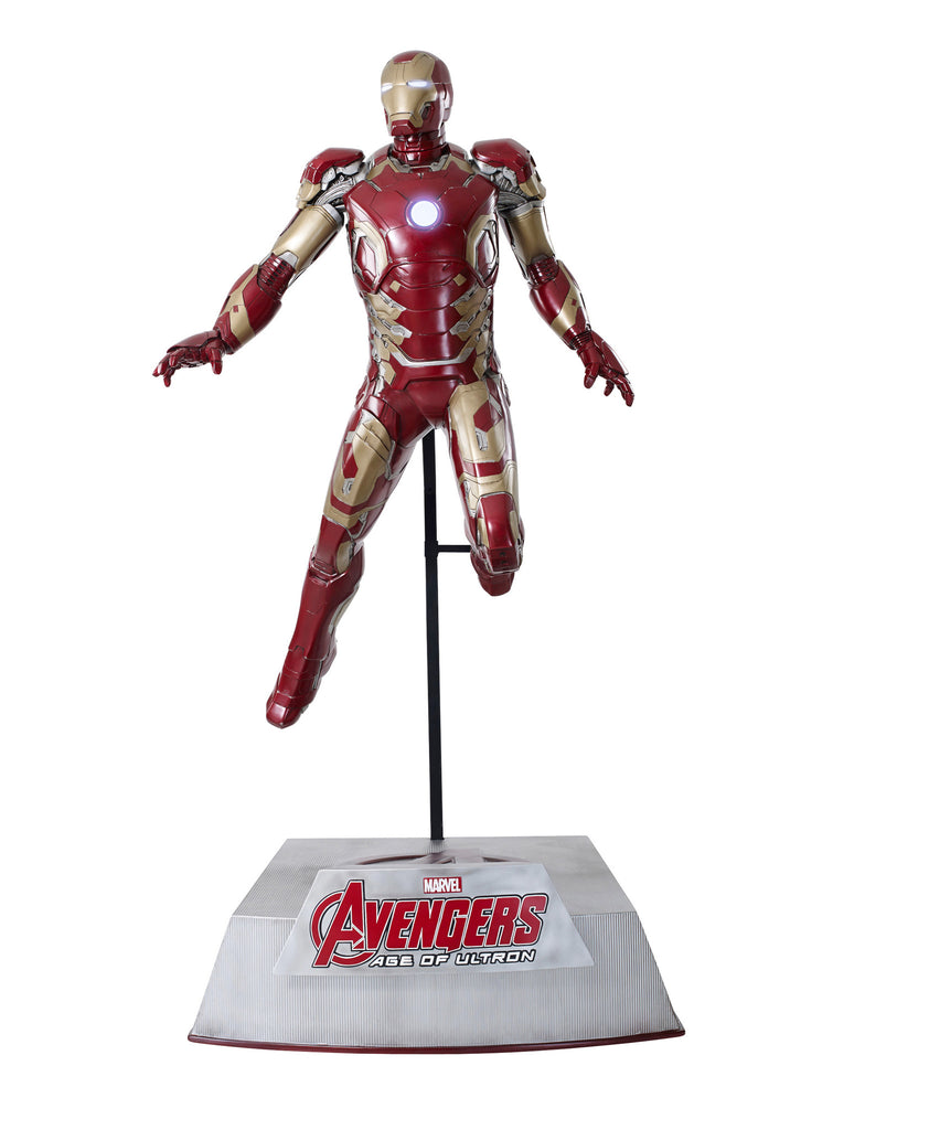 Avengers: Age of Ultron: IRON MAN (MK43) - Life-Size Statue, hovering