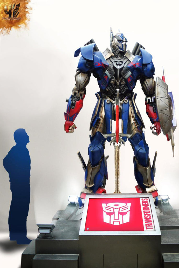Transformers: Age Of Extinction: OPTIMUS PRIME - Life-Size Statue (SOLD OUT!)
