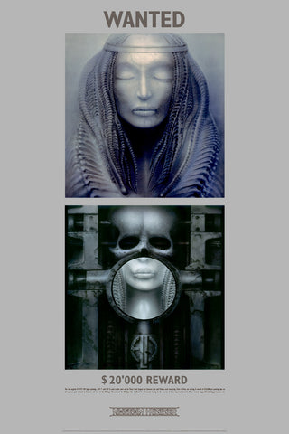 ELP WANTED by H.R. Giger