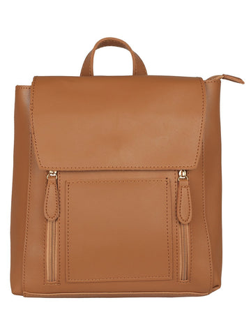 Minimalistic Backpack-Tan