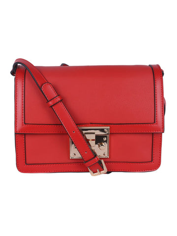Pied Piping Sling Bag-Red