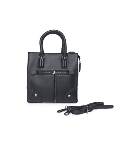 Carry Me Fancy Handbag-Black
