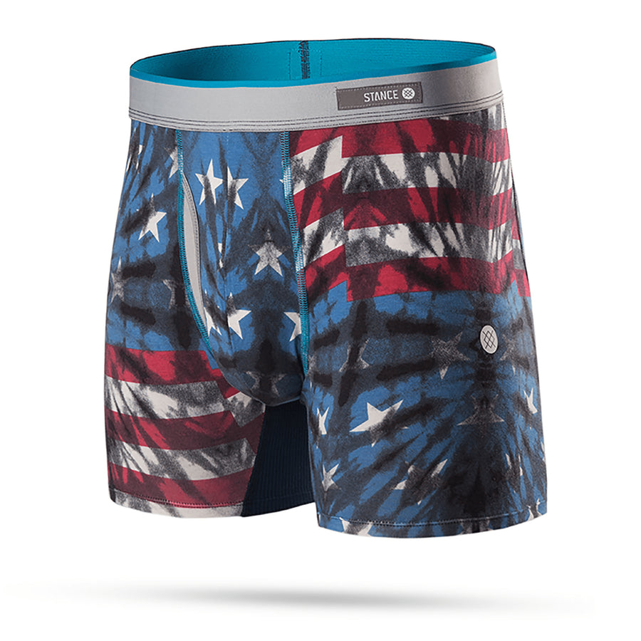 stance intimo,Fourth Boxer Brief Blue, image 1
