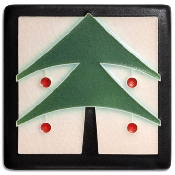 4x4 Christmas Tree - Peppermint