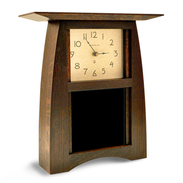6x6 Arts and Crafts Clock