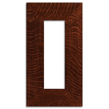 4x12 3-inch Oak Legacy Frame - Single Opening