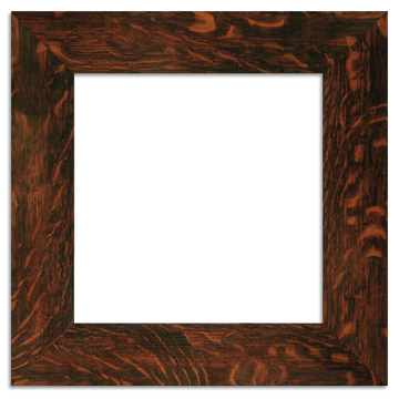 Oak Finish - 12x12 3-inch Beveled Legacy Frame - Single Opening