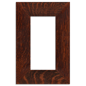 Oak Finish - 4x8 2-inch Oak Park Frame - Single Opening