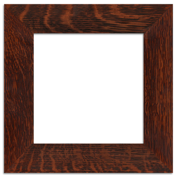 Oak Finish - 8x8 2-inch Oak Park Frame - Single Opening