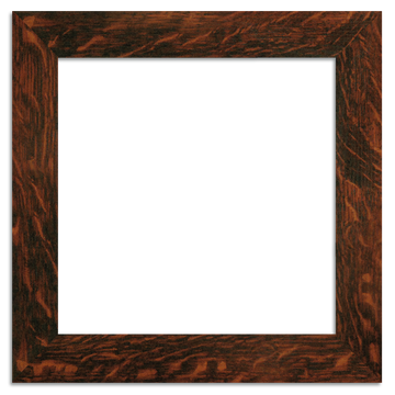 12x12 Craftsman Oak 2-inch Oak Park Frame - Single Opening