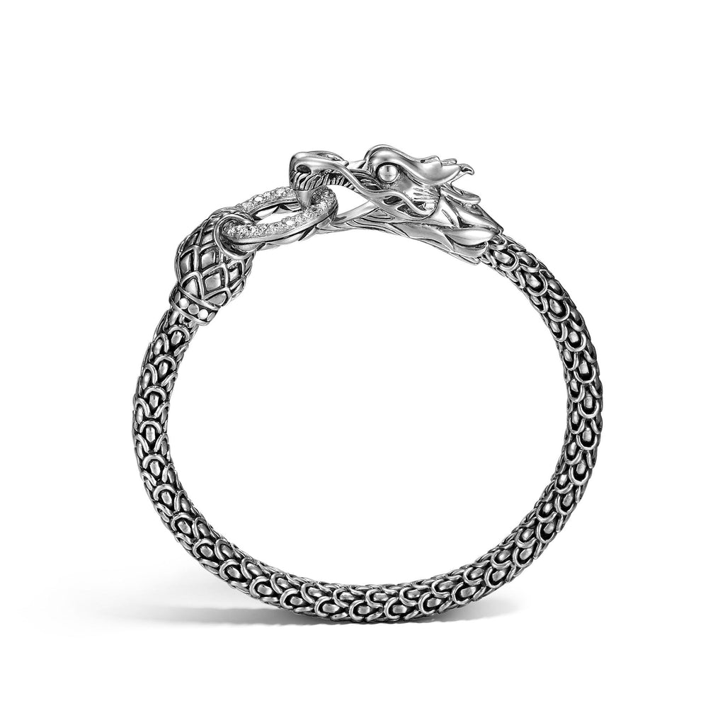 Naga Station Bracelet with Diamonds