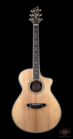 Breedlove Stage Exotic Concert CE Sitka Spruce & Ziricote - Natural (971) - Available at Lark Guitars