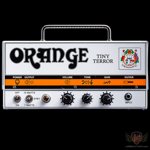 Pre-Owned Orange Tiny Terror Head (001) - Available at Lark Guitars