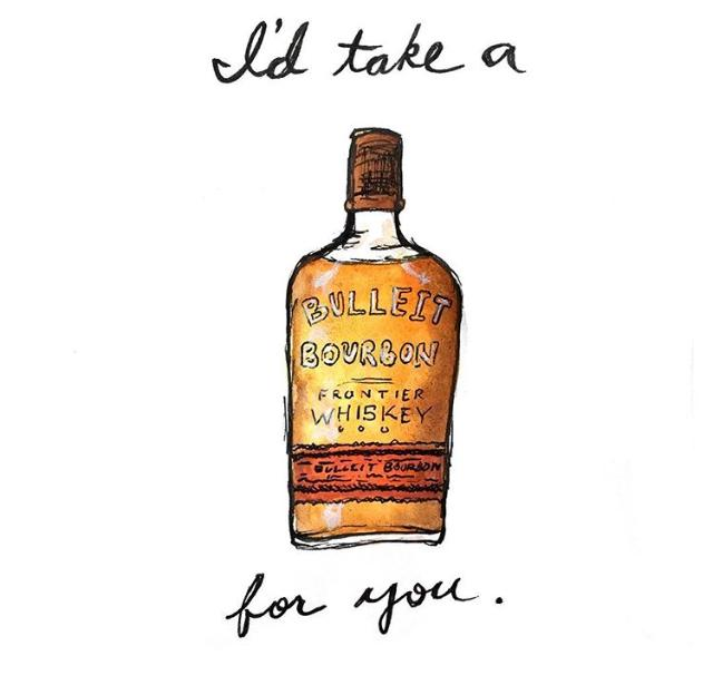 "Bri Bowers - Kentucky Bourbon Pun Prints 8.5"" x 11"""