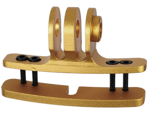 Goggle Camera Mount - Gold