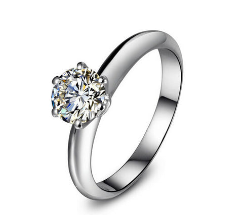 Timeless 1-3CT SONA DIAMOND engagement ring