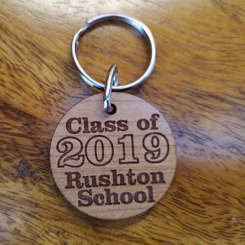 Class of 2019 keyring