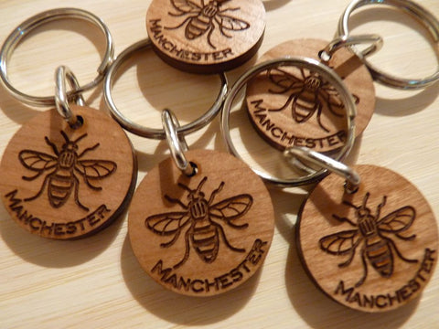 Manchester Worker Bee Keyring