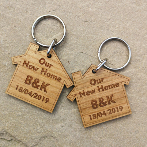 Our new home Keyrings