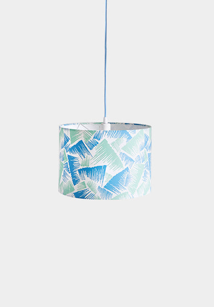 Rae Mint/Blue Lampshade