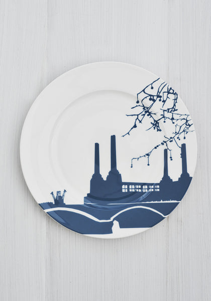 Battersea power station dinner plate - Snowden Flood shop