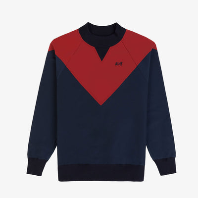 Water-Repellent Pull Over - Navy/Red - Outerwear Aimé Leon Dore