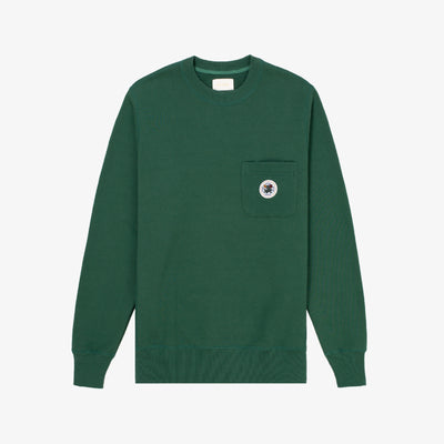POCKET CREWNECK-GREEN - Sweatshirt Aimé Leon Dore