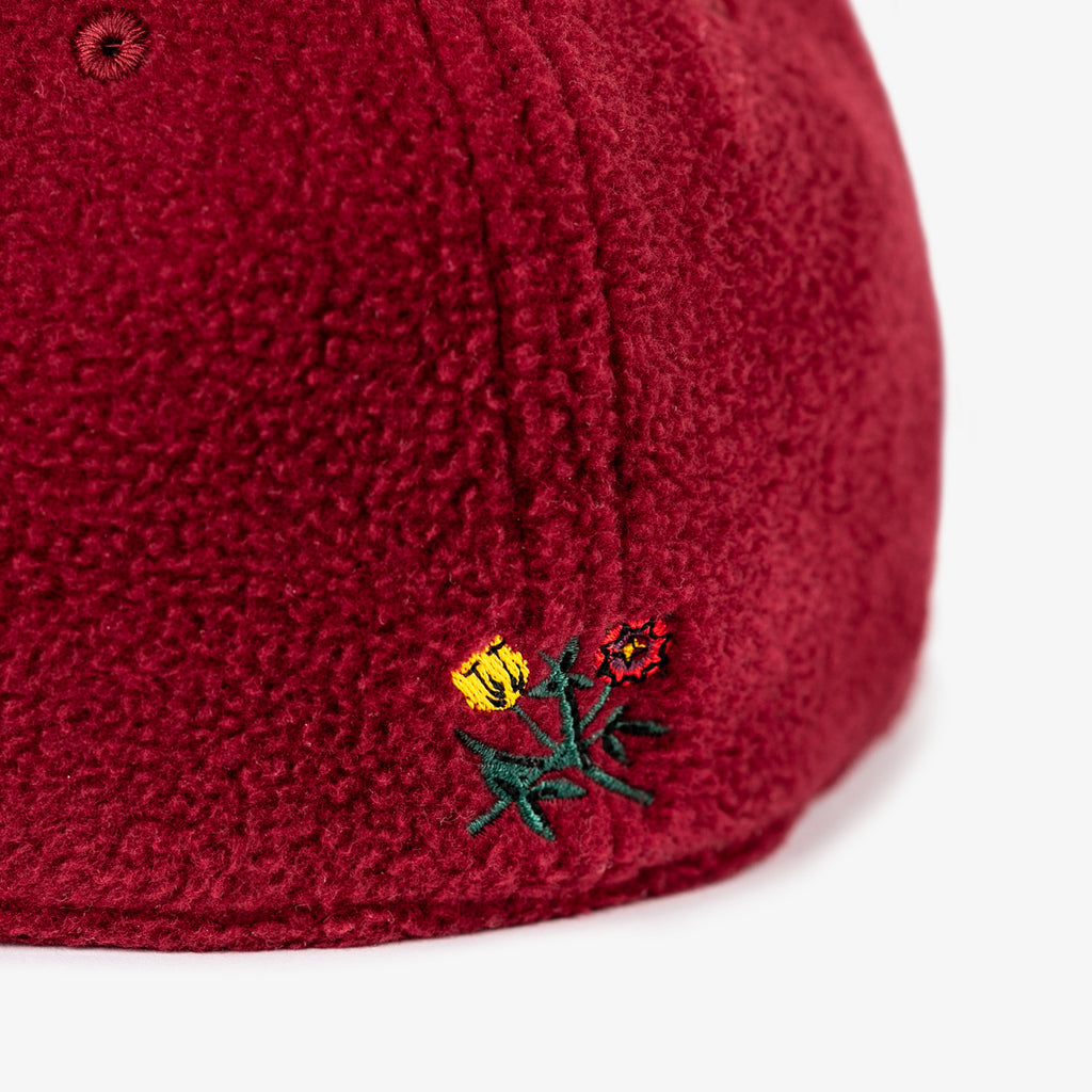 ALD POLAR FLEECE FITTED-MAROON - Hats Aimé Leon Dore