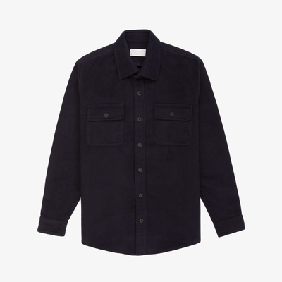 Moleskin CPO Over-shirt - Dark Navy - Shirt Aimé Leon Dore