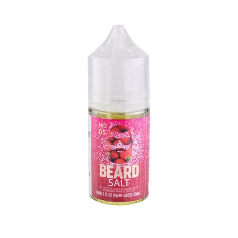 Beard Salts No. 05 NY Style Cheesecake with Strawberries on Top 30ml Bottle