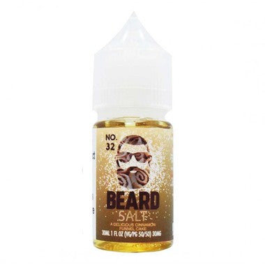 Beard Salts No. 32 Cinnamon Funnel Cake 30ml Bottle