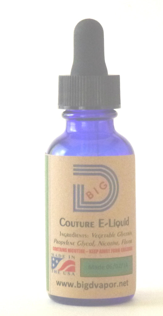 eLiquid - Big D Express 30 mL - Big D Vapor
