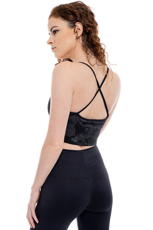 Shadow Trooper Cross Back Crop Cami