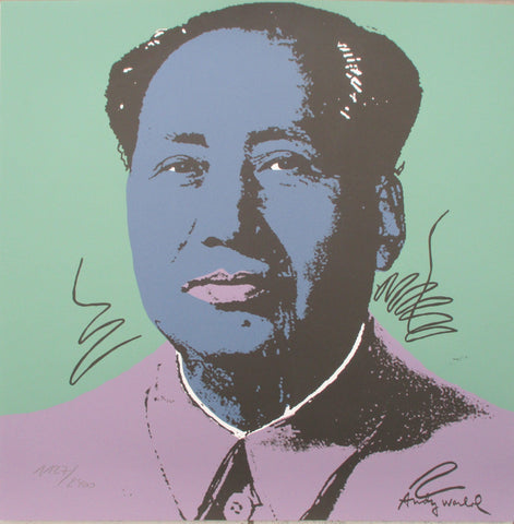 Andy Warhol Mao litografia signed numbered lithopgraph authenticated limited edition
