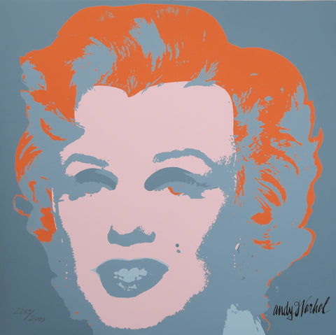 Andy Warhol Marilyn Monroe signed print authenticated limited edition