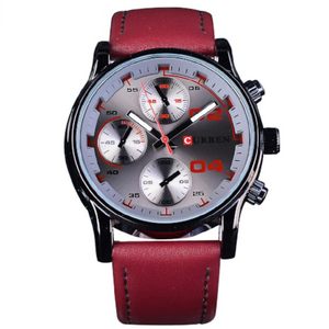 Curren Red Racing Sports Watch (Dial 4.5cm) - CUR 158