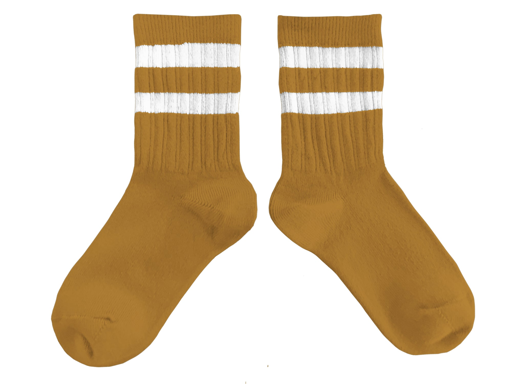 Collegien Varsity Socks / Moutarde De Dijon