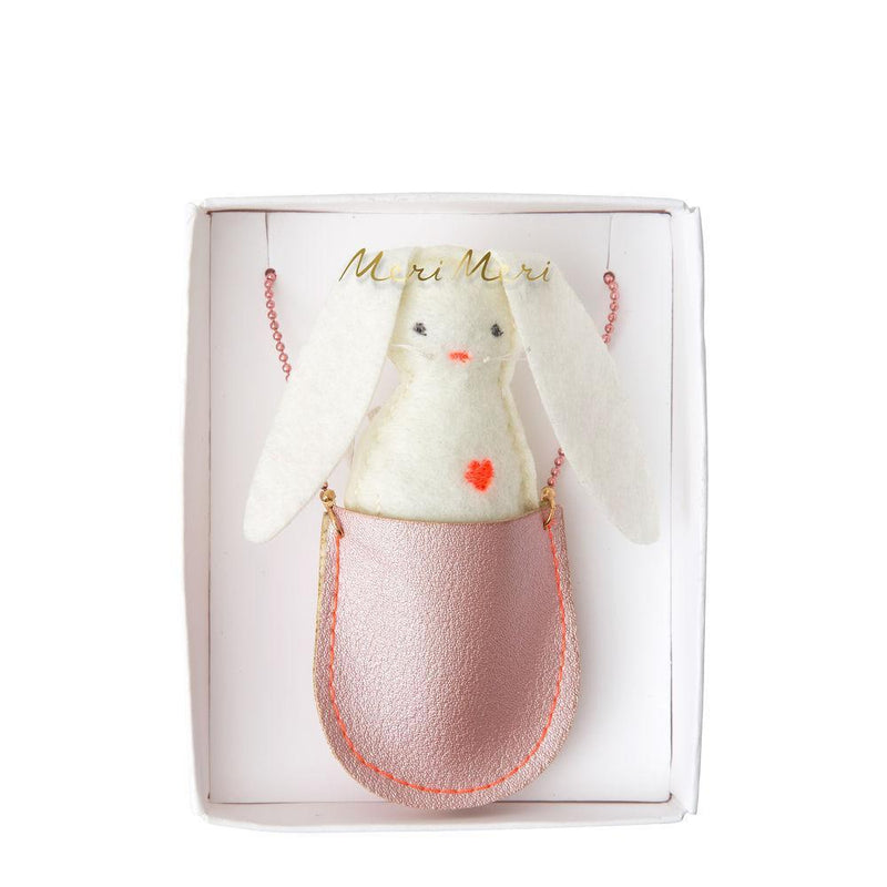 Meri Meri Bunny Pocket Necklace